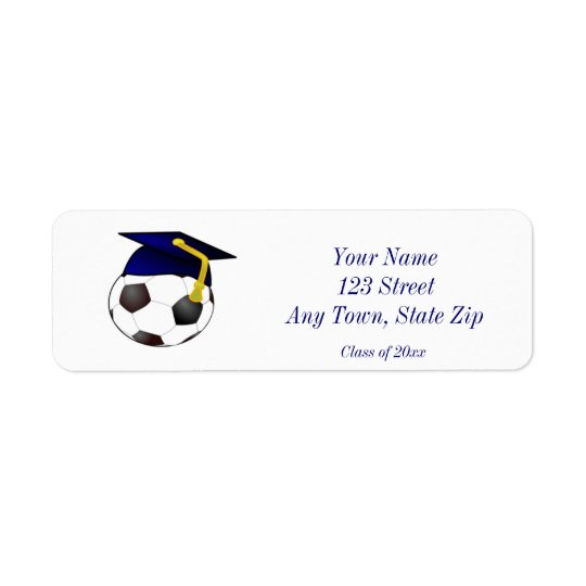Graduation Return Address Labels