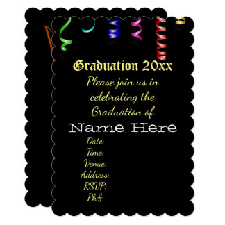 Graduation School Personalize Destiny Destiny'S Card