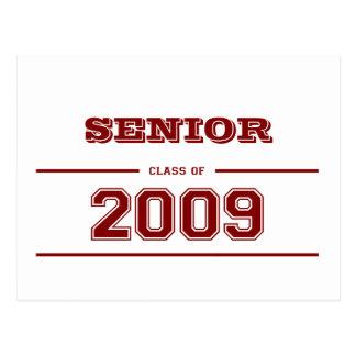 Graduation Senior Class of 2009 Postcards