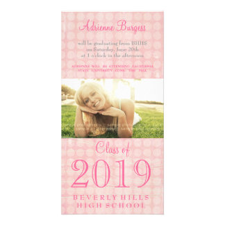 Graduation Shabby Chic Class of 2011 PhotoCard Personalized Photo Card