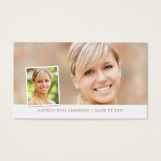 Graduation Social Media Photo Style Name Cards