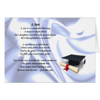 Graduation Son Poem Card