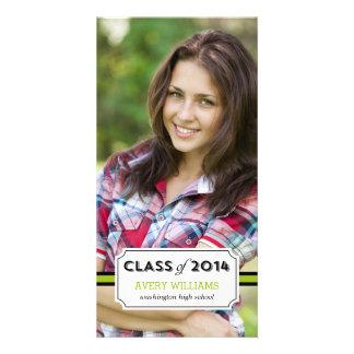 Graduation Tag Graduation Announcement Customized Photo Card