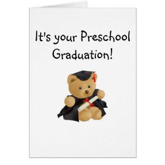Graduation-Teddy Bear Card