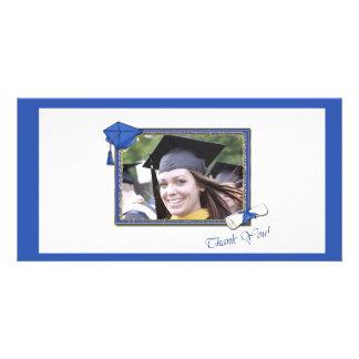 Graduation Thank You Blue Card