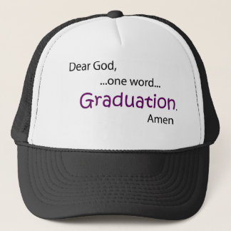 Graduation Trucker Hat