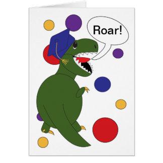 Graduation Tyrannosaurus Rex Card