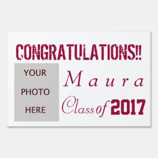 Graduation with photo