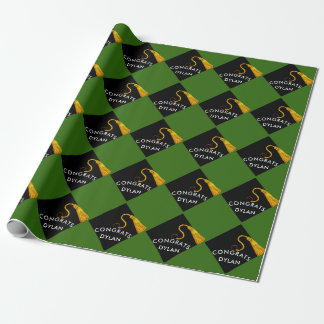 Graduation Wrapping Paper