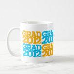 Graduations Class Of 2012 Orange Blue Mug