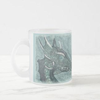 Graelle the Magical She Dragon Fantasy Art Coffee Mugs