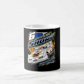 Graeme Short Racing Drinkware Classic White Coffee Mug