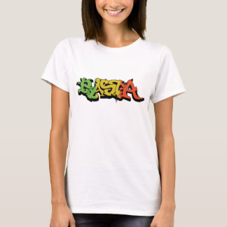 Graf Rasta Shirt with Reggae Colors