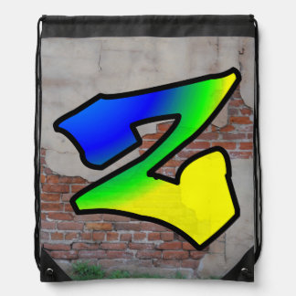 GRAFFITI #1 Z DRAWSTRING BAG