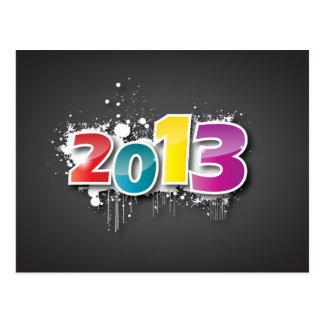 Graffiti 2013 Design Postcard
