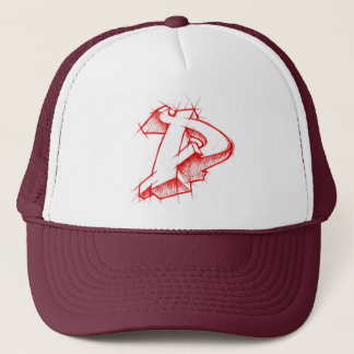 Graffiti 3d style - Arrowmade D - Trucker Hat