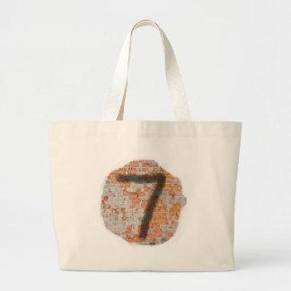 Graffiti 7th Birthday Gifts Jumbo Tote Bag