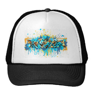 Graffiti A-Series Baseball Cap Trucker Hat
