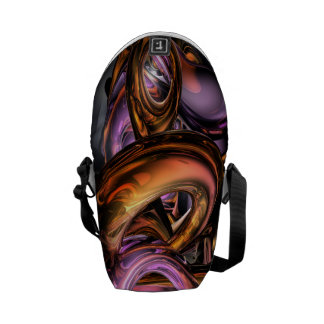 Graffiti Abstract Courier Bag