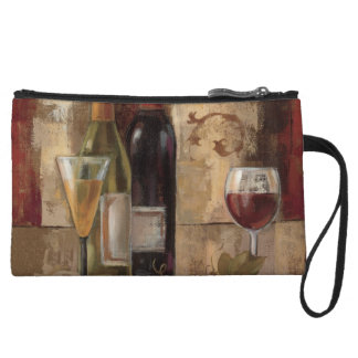 Graffiti and Wine Wristlet