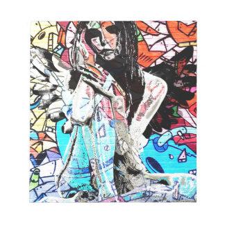 Graffiti angel notepads