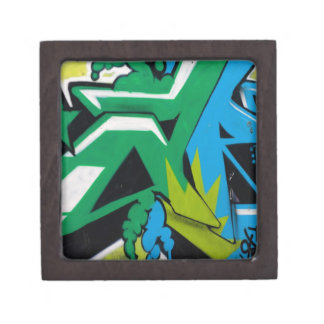graffiti Art Designs Premium Jewelry Boxes