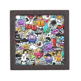Graffiti Art Premium Jewelry Boxes