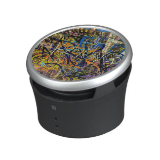 Graffiti Background Bluetooth Speaker