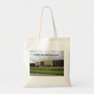 Graffiti: Beautiful Destruction Tote Bag