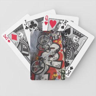 Graffiti Bicycle - Playing Cards