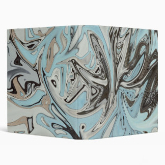 Graffiti Blues Vinyl Binder