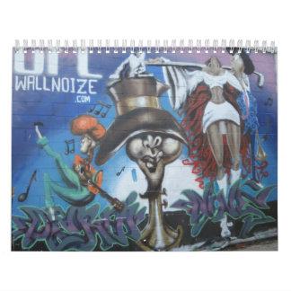 Graffiti Calendar