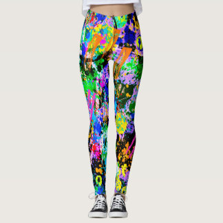 Graffiti Carnival Leggings