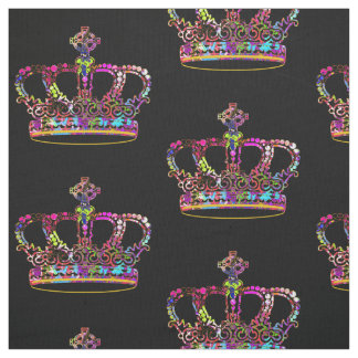 Graffiti crown fabric