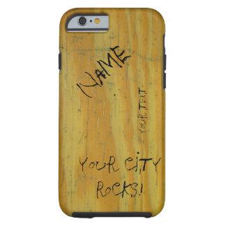 Graffiti de bureau d'école coque iPhone 6 tough