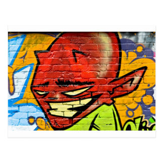 Graffiti Demon Postcard