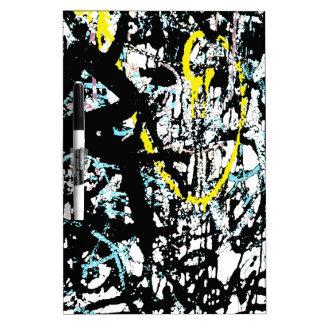 Graffiti Dry Erase Whiteboard