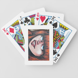 Graffiti Girl Poker Deck