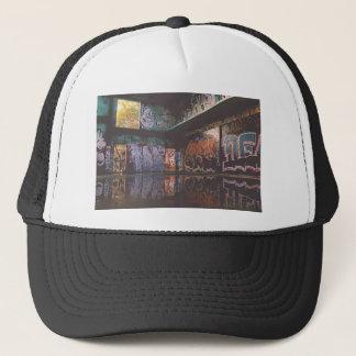 Graffiti Grunge Design Trucker Hat
