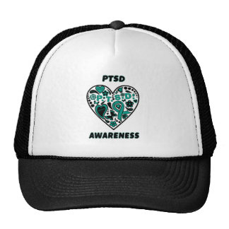 Graffiti Heart...PTSD Trucker Hat