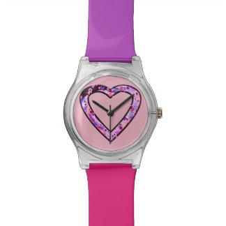 Graffiti Heart (wink) Wrist Watch