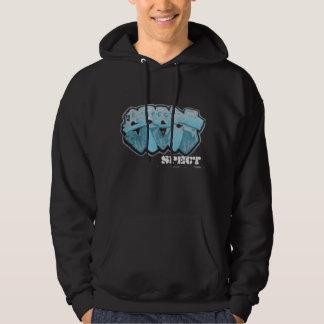 "Graffiti Hoody - ""SPECT"" (Blue) Rap/HipHop/Urban"
