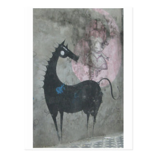 Graffiti Horse Postcard