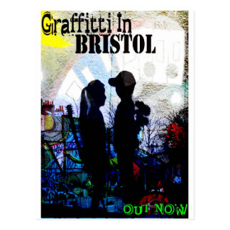 Graffiti In Bristol Postcard