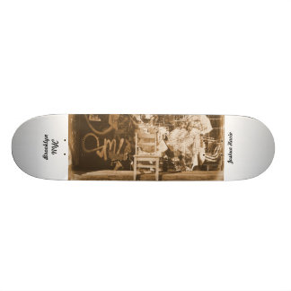 Graffiti in Brooklyn NYC Skateboard Deck