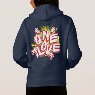 Graffiti Kids Hoodie: One Love Streewear
