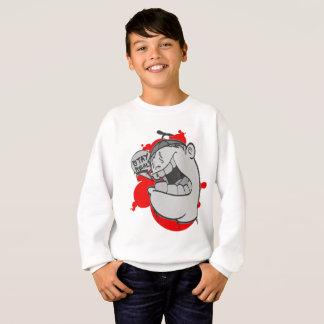 Graffiti Kids Swearshirt: Stay Real Hip Hop Sweatshirt