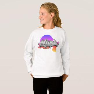 Graffiti Kids Sweatshirt: Hailey Streetwear Sweatshirt