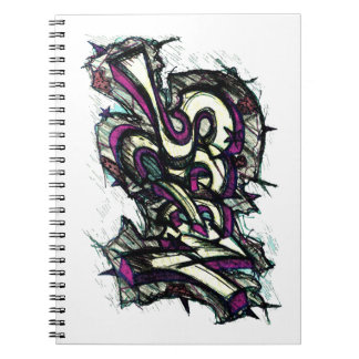 Graffiti Letters Notebook