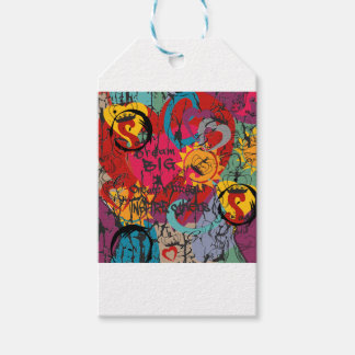 Graffiti Love Gift Tags